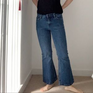 Free People middle rise Jean/ PETITE